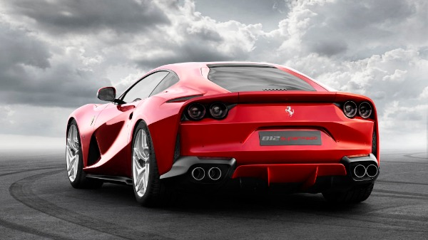 New 2020 Ferrari 812 Superfast for sale Call for price at Aston Martin of Greenwich in Greenwich CT 06830 3
