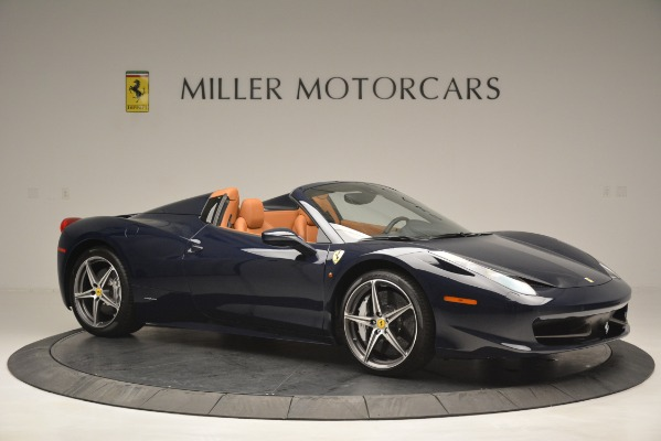 Used 2014 Ferrari 458 Spider for sale Sold at Aston Martin of Greenwich in Greenwich CT 06830 10