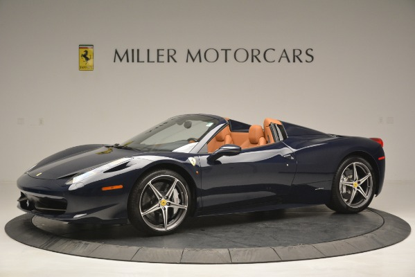 Used 2014 Ferrari 458 Spider for sale Sold at Aston Martin of Greenwich in Greenwich CT 06830 2