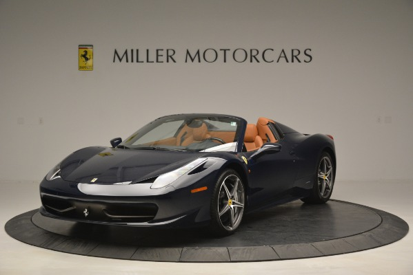 Used 2014 Ferrari 458 Spider for sale Sold at Aston Martin of Greenwich in Greenwich CT 06830 1