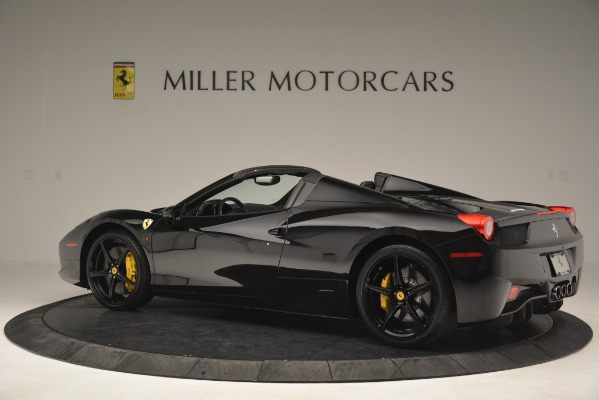 Used 2013 Ferrari 458 Spider for sale Sold at Aston Martin of Greenwich in Greenwich CT 06830 4