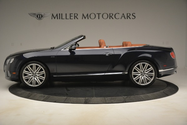 Used 2014 Bentley Continental GT Speed for sale Sold at Aston Martin of Greenwich in Greenwich CT 06830 3