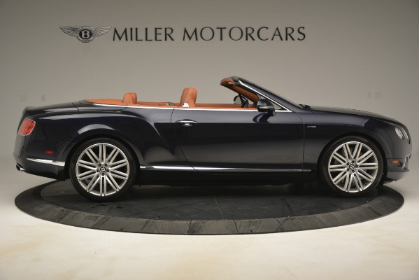 Used 2014 Bentley Continental GT Speed for sale Sold at Aston Martin of Greenwich in Greenwich CT 06830 9