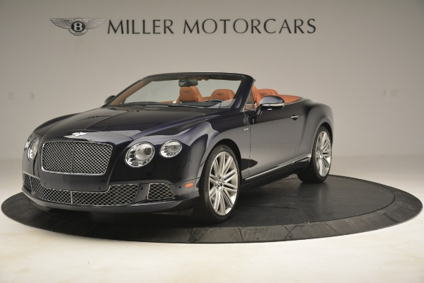 Used 2014 Bentley Continental GT Speed for sale Sold at Aston Martin of Greenwich in Greenwich CT 06830 1