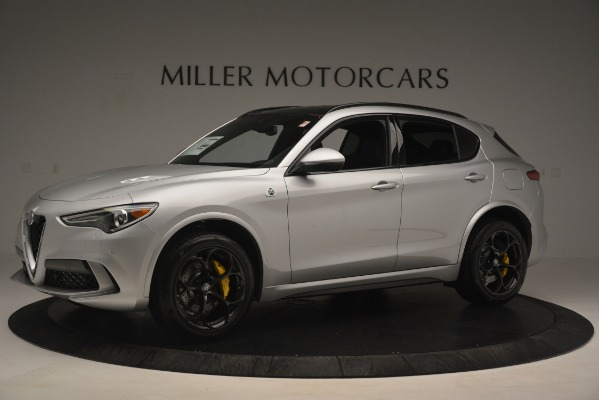 New 2019 Alfa Romeo Stelvio Quadrifoglio for sale $86,440 at Aston Martin of Greenwich in Greenwich CT 06830 2