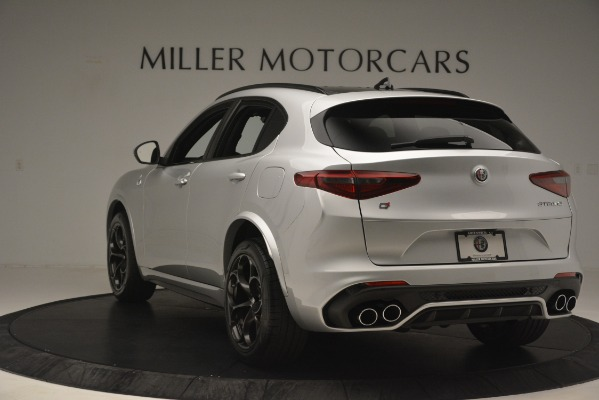 New 2019 Alfa Romeo Stelvio Quadrifoglio for sale $86,440 at Aston Martin of Greenwich in Greenwich CT 06830 5