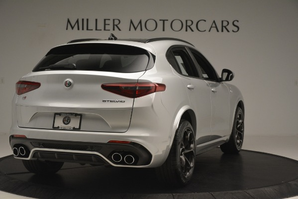New 2019 Alfa Romeo Stelvio Quadrifoglio for sale $86,440 at Aston Martin of Greenwich in Greenwich CT 06830 7