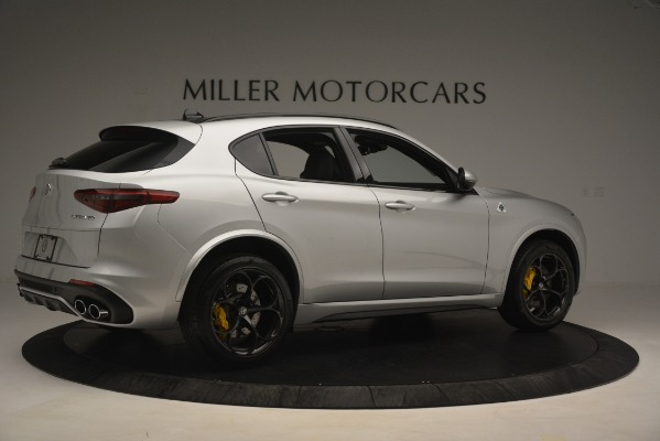 New 2019 Alfa Romeo Stelvio Quadrifoglio for sale $86,440 at Aston Martin of Greenwich in Greenwich CT 06830 8