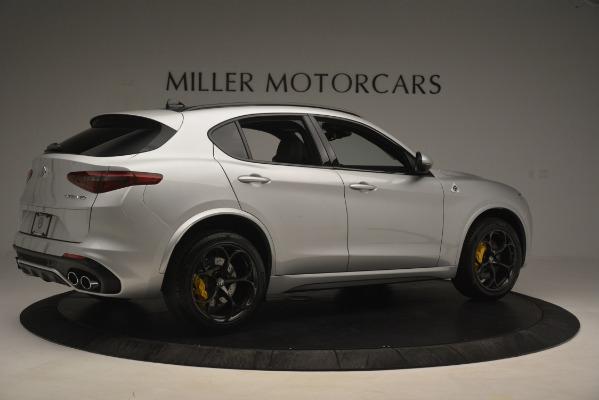 New 2019 Alfa Romeo Stelvio Quadrifoglio for sale Sold at Aston Martin of Greenwich in Greenwich CT 06830 8