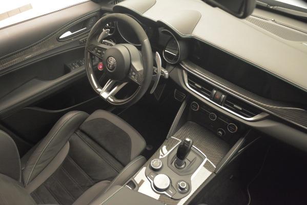 New 2019 Alfa Romeo Stelvio Quadrifoglio for sale Sold at Aston Martin of Greenwich in Greenwich CT 06830 18