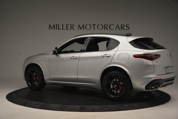 New 2019 Alfa Romeo Stelvio Quadrifoglio for sale Sold at Aston Martin of Greenwich in Greenwich CT 06830 4
