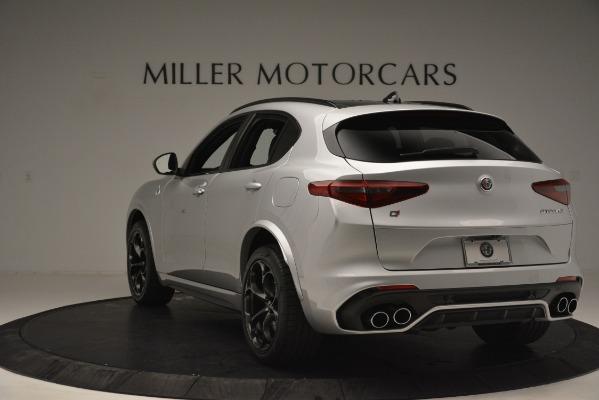 New 2019 Alfa Romeo Stelvio Quadrifoglio for sale Sold at Aston Martin of Greenwich in Greenwich CT 06830 5