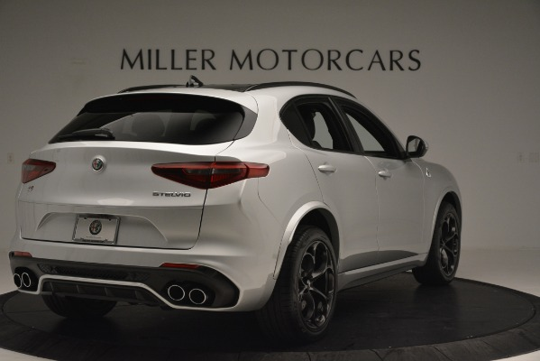 New 2019 Alfa Romeo Stelvio Quadrifoglio for sale Sold at Aston Martin of Greenwich in Greenwich CT 06830 7