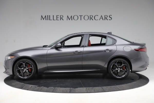 New 2019 Alfa Romeo Giulia Ti Sport Q4 for sale Sold at Aston Martin of Greenwich in Greenwich CT 06830 3