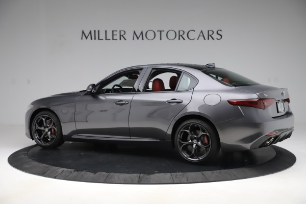 New 2019 Alfa Romeo Giulia Ti Sport Q4 for sale Sold at Aston Martin of Greenwich in Greenwich CT 06830 4