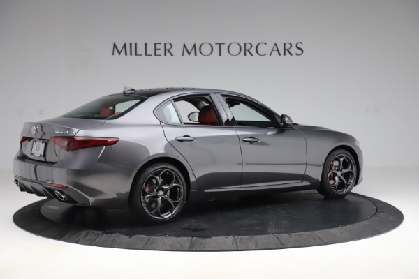New 2019 Alfa Romeo Giulia Ti Sport Q4 for sale Sold at Aston Martin of Greenwich in Greenwich CT 06830 8
