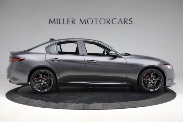 New 2019 Alfa Romeo Giulia Ti Sport Q4 for sale Sold at Aston Martin of Greenwich in Greenwich CT 06830 9