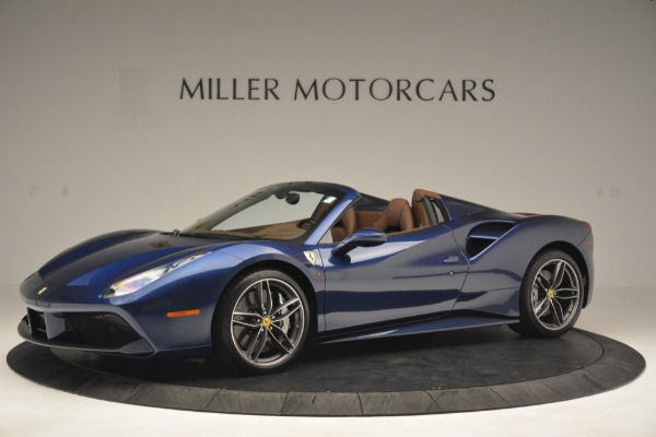 Used 2018 Ferrari 488 Spider for sale Sold at Aston Martin of Greenwich in Greenwich CT 06830 2