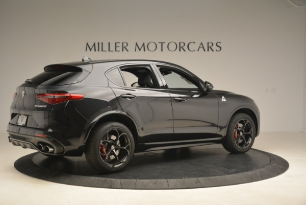 New 2019 Alfa Romeo Stelvio Quadrifoglio for sale Sold at Aston Martin of Greenwich in Greenwich CT 06830 8