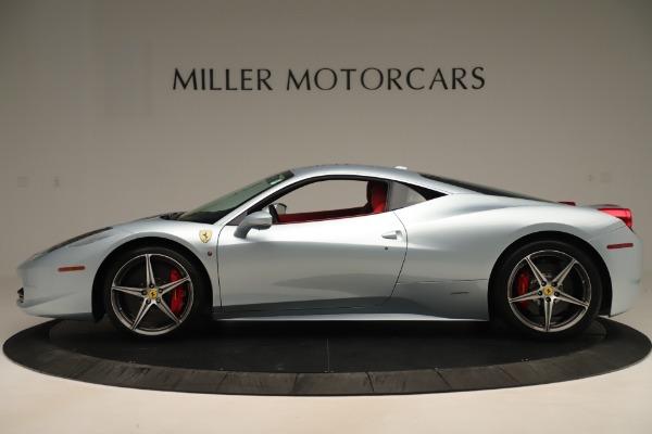Used 2015 Ferrari 458 Italia for sale $215,900 at Aston Martin of Greenwich in Greenwich CT 06830 3