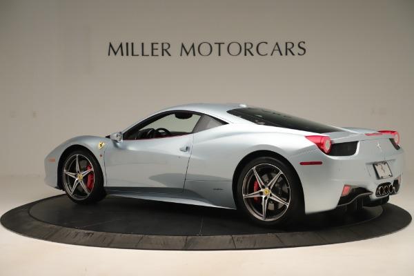 Used 2015 Ferrari 458 Italia for sale $215,900 at Aston Martin of Greenwich in Greenwich CT 06830 4
