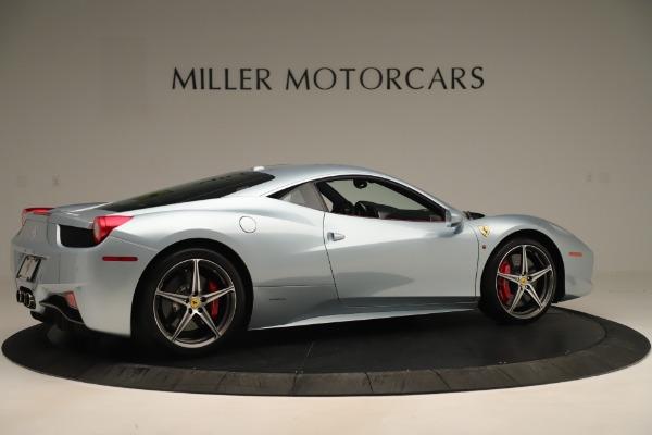 Used 2015 Ferrari 458 Italia for sale $215,900 at Aston Martin of Greenwich in Greenwich CT 06830 8