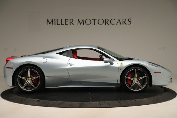 Used 2015 Ferrari 458 Italia for sale $215,900 at Aston Martin of Greenwich in Greenwich CT 06830 9