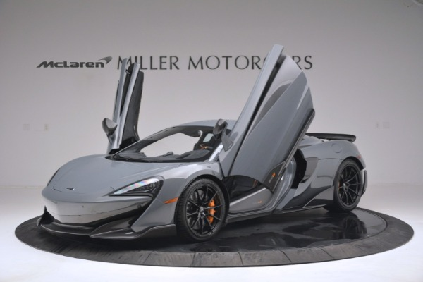 New 2019 McLaren 600LT Coupe for sale Sold at Aston Martin of Greenwich in Greenwich CT 06830 14