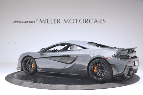 New 2019 McLaren 600LT Coupe for sale Sold at Aston Martin of Greenwich in Greenwich CT 06830 4