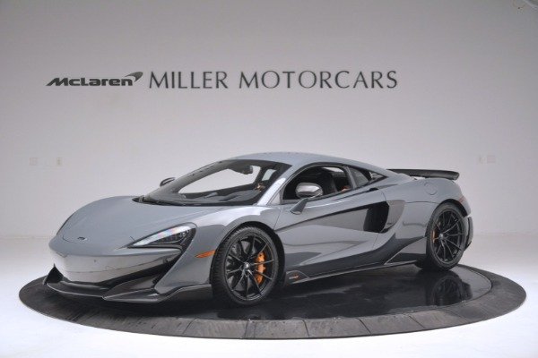 New 2019 McLaren 600LT Coupe for sale Sold at Aston Martin of Greenwich in Greenwich CT 06830 1