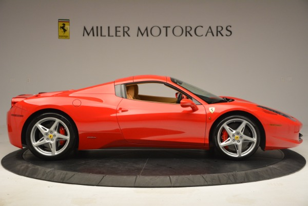 Used 2013 Ferrari 458 Spider for sale Sold at Aston Martin of Greenwich in Greenwich CT 06830 21