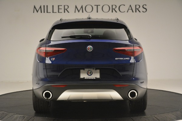 New 2019 Alfa Romeo Stelvio Sport Q4 for sale Sold at Aston Martin of Greenwich in Greenwich CT 06830 6