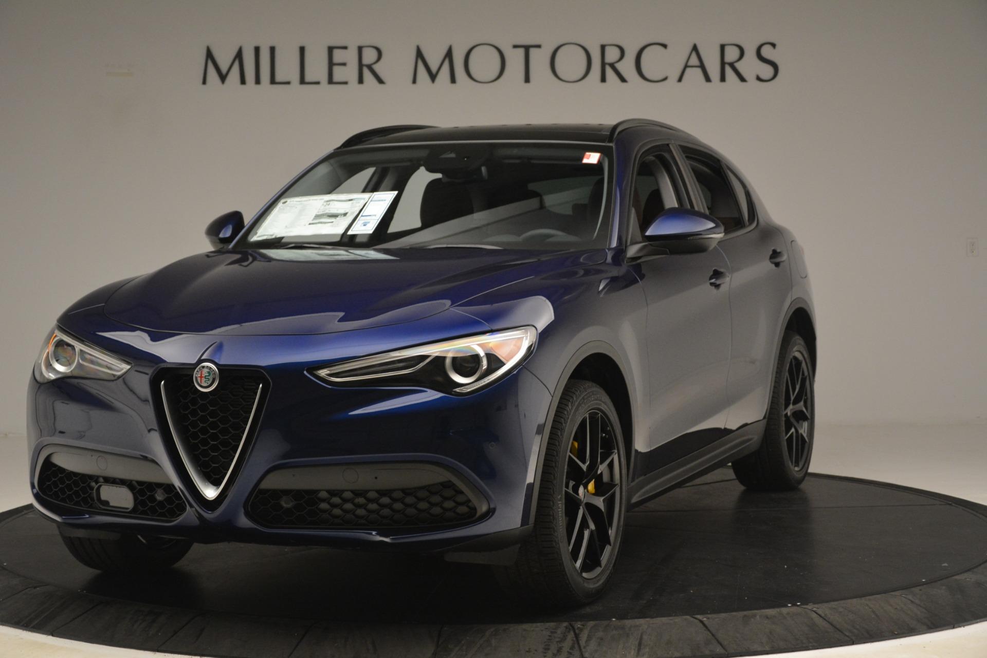 New 2019 Alfa Romeo Stelvio Sport Q4 for sale Sold at Aston Martin of Greenwich in Greenwich CT 06830 1