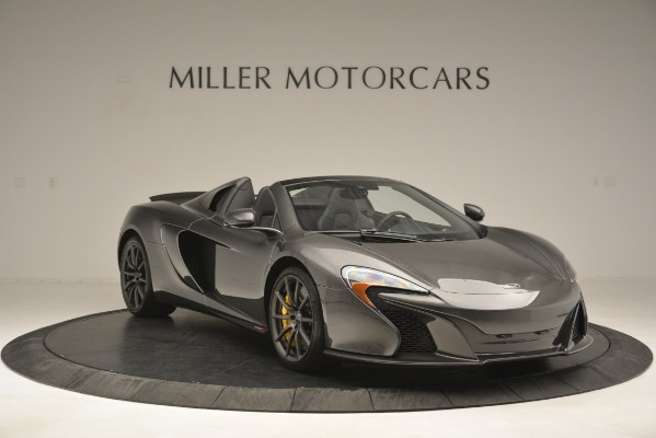 Used 2016 McLaren 650S Spider Convertible for sale Sold at Aston Martin of Greenwich in Greenwich CT 06830 11