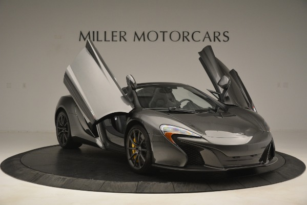 Used 2016 McLaren 650S Spider Convertible for sale Sold at Aston Martin of Greenwich in Greenwich CT 06830 12