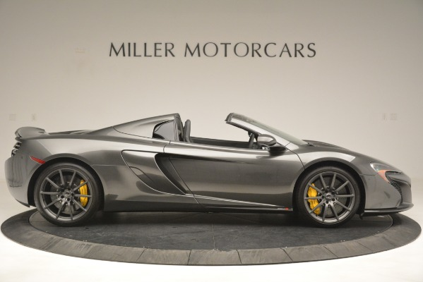 Used 2016 McLaren 650S Spider Convertible for sale Sold at Aston Martin of Greenwich in Greenwich CT 06830 9