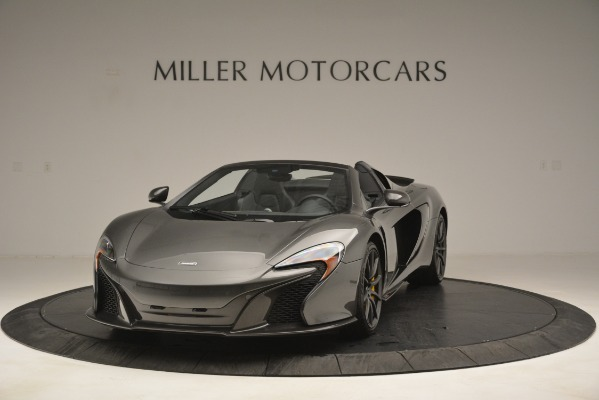 Used 2016 McLaren 650S Spider Convertible for sale Sold at Aston Martin of Greenwich in Greenwich CT 06830 1