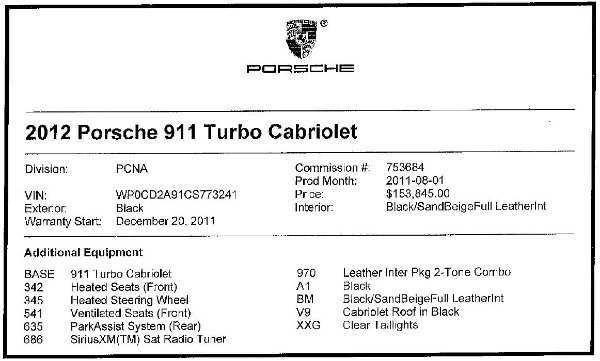 Used 2012 Porsche 911 Turbo for sale Sold at Aston Martin of Greenwich in Greenwich CT 06830 28