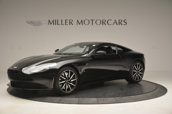 Used 2017 Aston Martin DB11 V12 Coupe for sale Sold at Aston Martin of Greenwich in Greenwich CT 06830 1