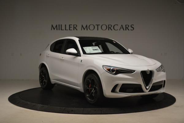New 2019 Alfa Romeo Stelvio Quadrifoglio for sale Sold at Aston Martin of Greenwich in Greenwich CT 06830 12