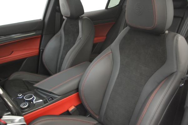 New 2019 Alfa Romeo Stelvio Quadrifoglio for sale Sold at Aston Martin of Greenwich in Greenwich CT 06830 16
