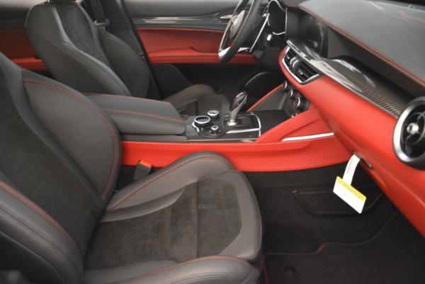 New 2019 Alfa Romeo Stelvio Quadrifoglio for sale Sold at Aston Martin of Greenwich in Greenwich CT 06830 21