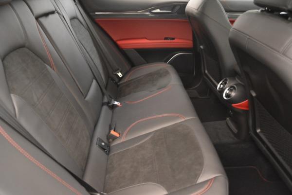 New 2019 Alfa Romeo Stelvio Quadrifoglio for sale Sold at Aston Martin of Greenwich in Greenwich CT 06830 24