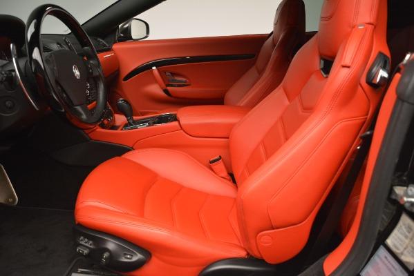 Used 2014 Maserati GranTurismo Sport for sale Sold at Aston Martin of Greenwich in Greenwich CT 06830 20