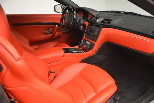 Used 2014 Maserati GranTurismo Sport for sale Sold at Aston Martin of Greenwich in Greenwich CT 06830 22