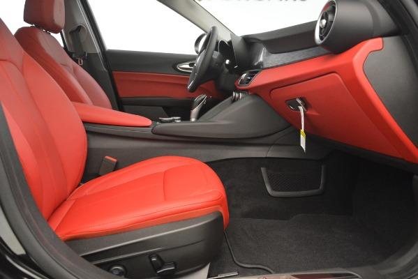 New 2019 Alfa Romeo Giulia Q4 for sale Sold at Aston Martin of Greenwich in Greenwich CT 06830 23