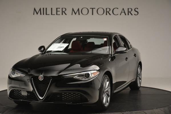 New 2019 Alfa Romeo Giulia Q4 for sale Sold at Aston Martin of Greenwich in Greenwich CT 06830 1