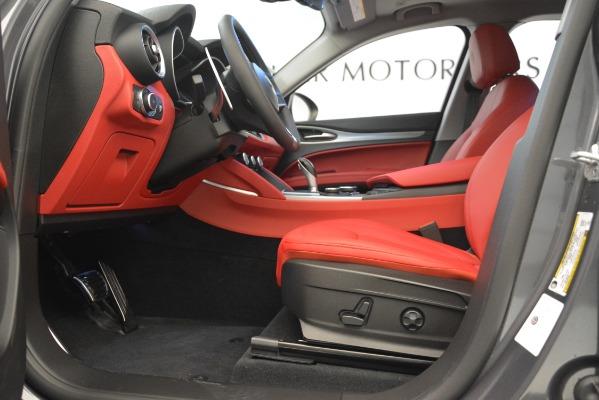 New 2019 Alfa Romeo Stelvio Sport Q4 for sale Sold at Aston Martin of Greenwich in Greenwich CT 06830 14