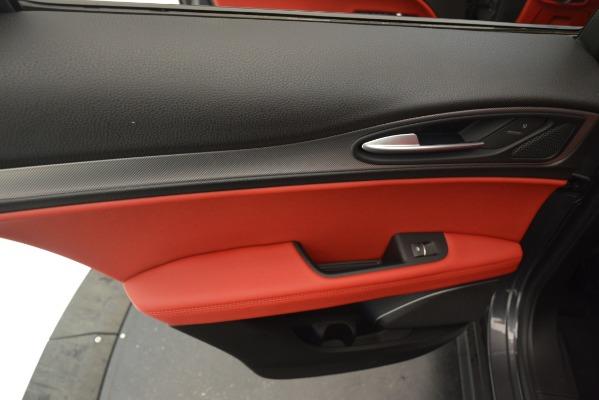 New 2019 Alfa Romeo Stelvio Sport Q4 for sale Sold at Aston Martin of Greenwich in Greenwich CT 06830 21