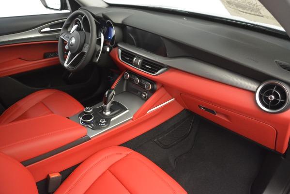 New 2019 Alfa Romeo Stelvio Sport Q4 for sale Sold at Aston Martin of Greenwich in Greenwich CT 06830 22
